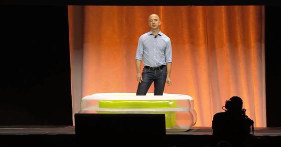 Jeff Bezos on ALS Ice Bucket Challenge